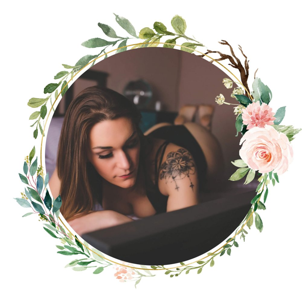 layered Floral Frame - Home Studio