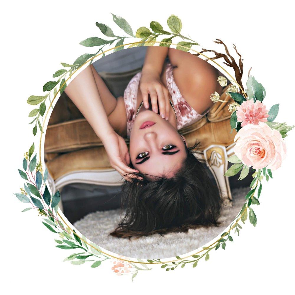 layered Floral Frame - Workshops